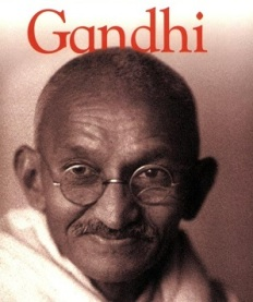 Gandhi Biography Portrait_Amy Pastan_Cropped